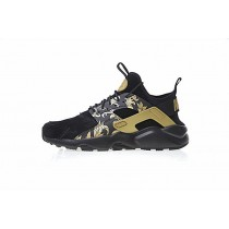 Schuhe Schwarz Nike Air Huarache Ultra Id Straw 829669-661 Herren