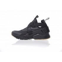 833147-809 Nike Air Huarache V Mid Unisex Schuhe Schwarz Braun