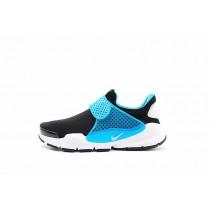 Herren Schwarz/Blau/Weiß 819686-041 Nike Sock Dart Id Schuhe