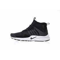Schwarz Weiß Nike Air Presto Mid Utility Aa0868-101 Herren Schuhe