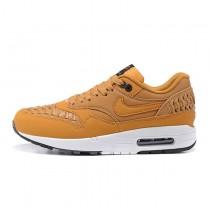 Nike Air Max 1 Woven Schuhe 725232-200 Herren Pale Shale