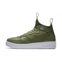 864014-301 Nike Air Force 1 Ultraforce Mid Unisex Schuhe Cactus Grün