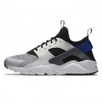 Nike Air Huarache Run Ultra Breathe Weiß/Racer Blau 819685-100 Unisex Schuhe