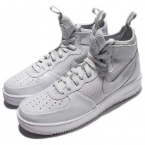 864025-002 Nike Air Force 1 Ultraforce Mid Schuhe Weiß Unisex
