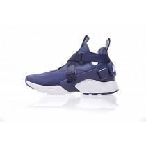 Schuhe Nike Air Huarache V Mid Tief Blau Herren 833146-604