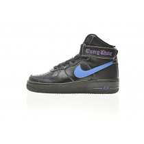 Vlone X Nike Air Force 1 High Collection Unisex Vlone Schwarz Blau Schuhe Aa536-004
