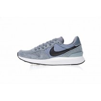 Herren Schuhe Grau/Water Blau 872087-403 Nike Internationalist Lt17