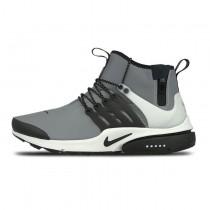 Nike Air Presto Utility Mid Schuhe 859524-001 Grau/Sliver/Schwarz Herren