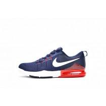 Schuhe Tief Blau/Rot/Weiß 852438-416 Nike Zoom Train Action Herren
