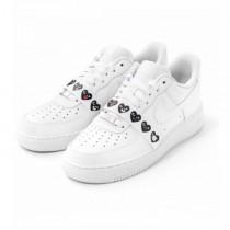 Comme Des Garçons X Nike Air Force 1 Low/Emoji Schuhe Unisex Weiß/Emoji 315122-111