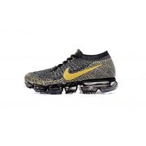 Schuhe Nike Air Vapormax Flyknit 849558-005 Unisex Schwarz/Gold
