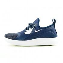 Nike Lunarcharge Premium Le 511881-011 Schuhe Marine/Weiß Herren