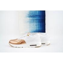 861711-001 Nike Air Max 1 Ultra Se Metallic Toe Unisex Rot Bronze Schuhe