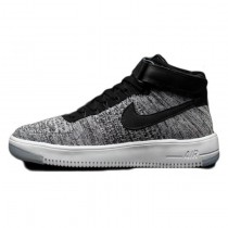 Weiß Gray Schuhe Nike Air Force 1 Flykni Herren