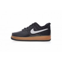 Unisex Nike Air Force 1 Pinnacle Qs Wolf 3M Schwarz Braun Schuhe Aj4234-200