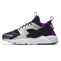 Nike Air Huarache Run Ultra Breathe 819685-005 Unisex Lila,Schwarz,Grau Schuhe
