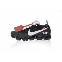 Schuhe Off-White X Nike Air Vapor Max Aa3831-001 Schwarz/Weiß/Orange Unisex