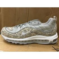 844694-400 Supreme X Nikelab Air Max 98 Snakeskin Schuhe Herren