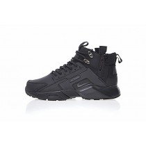 """All Schwarz 856787-009 Herren Schuhe <span class=""""__cf_email__"""" data-cfemail=""""59183a2b3637203419"""">[emailprotected]</span> X Nike Air Huarache City Mid Lea"""