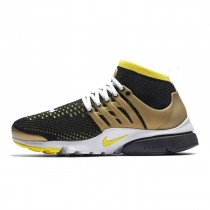 835570-007 Nike Air Presto Flyknit Ultra Schuhe Herren Schwarz/Gelb Stark/Metallic Gold