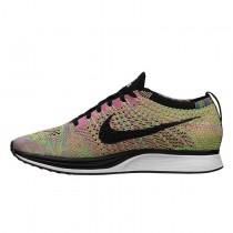 Schuhe Nike Flyknit Racericolor Unisex 526628-004 Multicolor/Gradient Rainbow