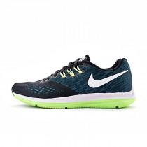 898466-003 Schuhe  Nike Zoom Winflo 4 Schwarz/Blau/Grün Herren