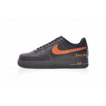 Aa53560-001 Unisex Schuhe Schwarz Orange Edc A$Ap Rocky Vlone X Nike Air Force 1