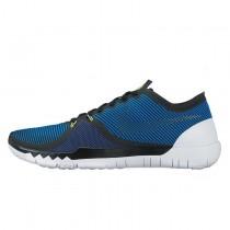 Nike Free Trainer 3.0 V4 749361-404 Soar/Tief Königlich Blau/Volt/Schwarz Schuhe Herren