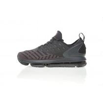 Herren Grau/Schwarz/Orange Rot Schuhe Nike Air Max Dlx 20Psi