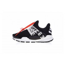 Schuhe Aa8696-300 Unisex Schwarz/Weiß Virgil Abloh Off-White X Nike La Nike Sock Dart
