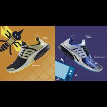 Herren Schuhe 789870-001 Nike Air Presto Qs Brutal Honey