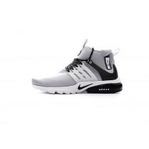 Schuhe Licht Grau/Schwarz Herren Nike Air Presto Mid Utility 859524-005