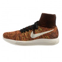 Schuhe Herren Nike Lunarepic Flyknit 818676-005 Multi-Color-Schwarz-Hyper-Orange