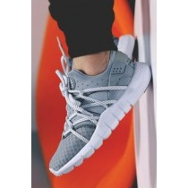 Unisex Nike Huarache Nm Schuhe Grau Weiß
