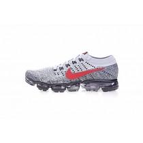 Nike Air Vapormax Flyknit Schuhe Schwarz/Licht Grau/Weiß 849558-020 Unisex