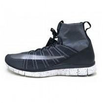 Dunkel Grau/Sliver Unisex Schuhe 805554-004 Nike Free Flyknit Mercurial Superfly