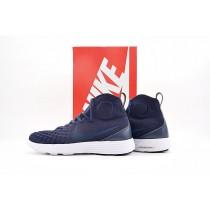 852614-401 Schuhe Herren Nike Lunar Magista Ii Flyknit Marine,Schwarz,Weiß