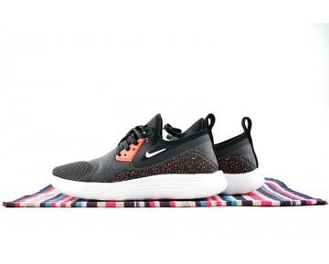 Nike Lunarcharge Premium Le 923284-016 Schuhe Herren Schwarz /Orange/Rot