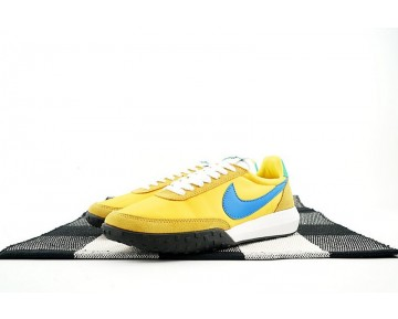 Nike Roshe Waffle Racer Nm Gelb/Blau/Grün Herren Schuhe 845089-604