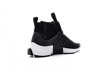 Schuhe Nike Air Presto Mid Utility Herren Schwarz/Weiß 859524-101
