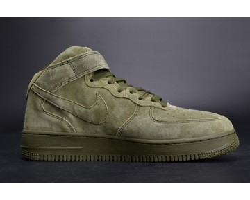 315123-302 Olive Grün Schuhe Unisex Nike Air Force 1 High