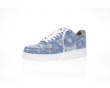 Denim Blau Herren Schuhe L.Vx Supreme X Nike Air Force 1 923044-041