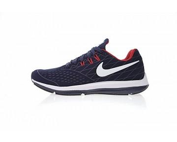 Herren  Nike Zoom Winflo 4 Sculpture Schuhe Tief Blau/Rot/Weiß 89846-402