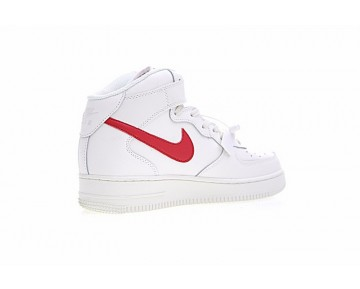 315123-126 Campus Weiß/Rot Nike Air Force 1 Mid '07 Schuhe Herren