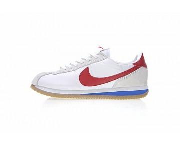 815653-013 Undefeated X Nikelab Cortez Sp Mandarin Duck Unisex Weiß Rot Blau Schuhe