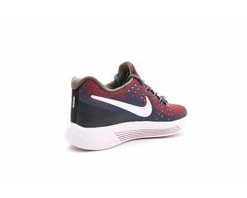 Lake Blau/Wein Rot Schuhe Damen Lunarepic Low Flyknit 2 880283-400