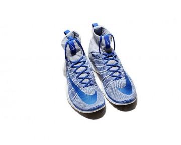 Nike Free Flyknit Mercurial Superfly 805554-003 Unisex Grau/ Königlich Schuhe