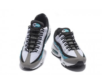 Schuhe Damen 807743-064 Nike Wmns Air Max 95 Essential Grau/Weiß/Schwarz