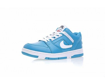 Supreme X Nike Sb Air Force 2 Low Sb Aa0871-313 Licht Blau Unisex Schuhe
