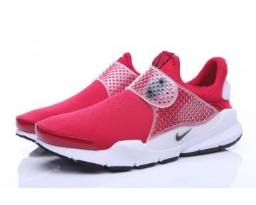 Universität Rot/Weiß-Schwarz Schuhe Unisex Nike Sock Dart  819686-601